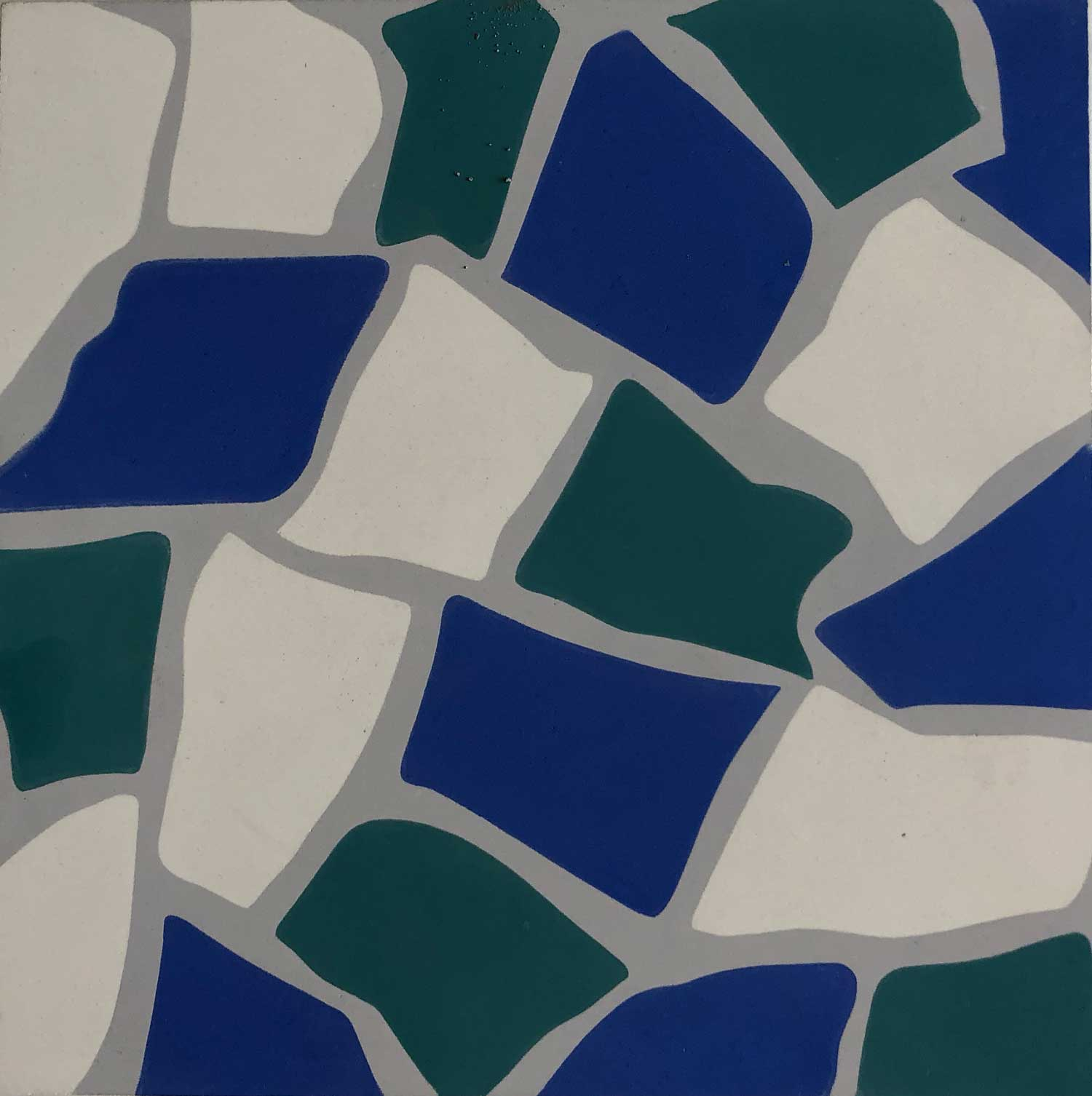 Mosaic Hidraulic outlet Ref Trencadis Gaudi color